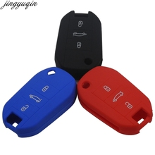 цена на Remote 3 Buttons Case FoldingKey Case Cover for Peugeot 3008 208 308 RCZ 508 408 2008 407 307 4008 flip remote keyless protected
