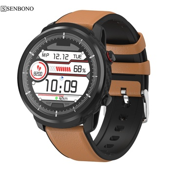 SENBONO S10 PLUS  smartwatch IP67 Waterproof Heart Rate Blood Pressure Monitoring Multiple Sport men Smart Watch for IOS Android 1