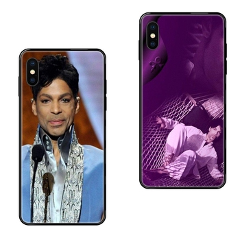 Black Soft TPU Cell Phone Cases Prince Rogers Nelson Best Sale For Galaxy Note 4 8 9 10 20 Plus Pro J6 J7 J8 M30s M80s Ultra image