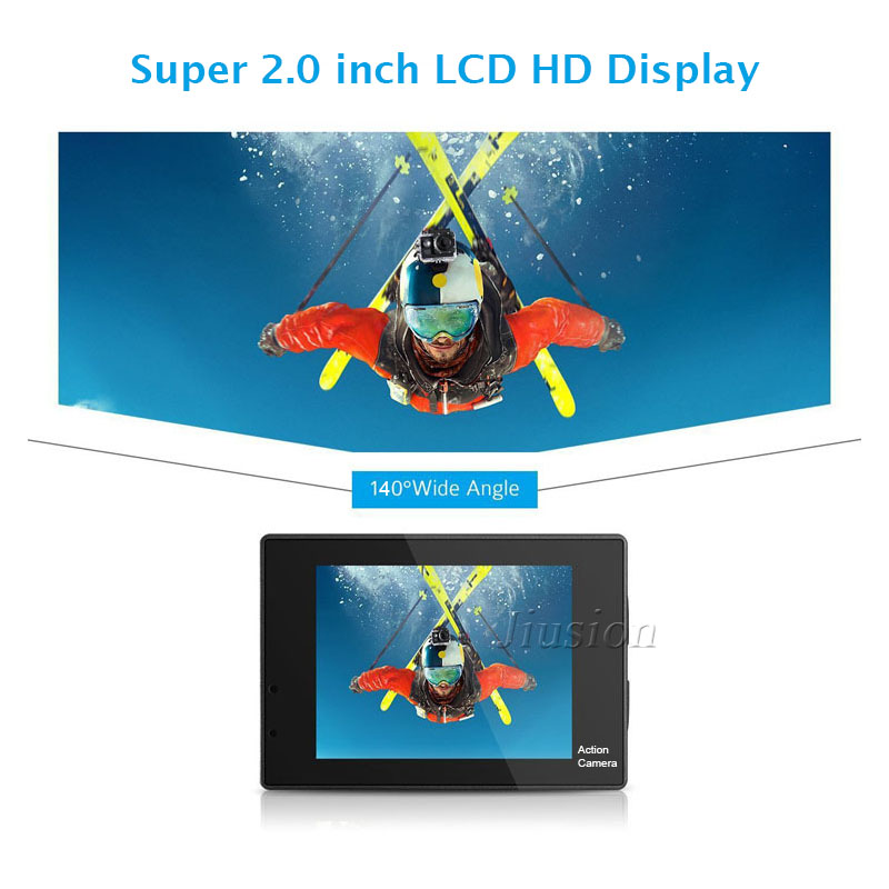 Sport Action Kamera HD 1080P Mini Unterwasser Camcorder Outdoor DVR Deportiva Camara Acuatica Micro Überwachung Video Foto Cam