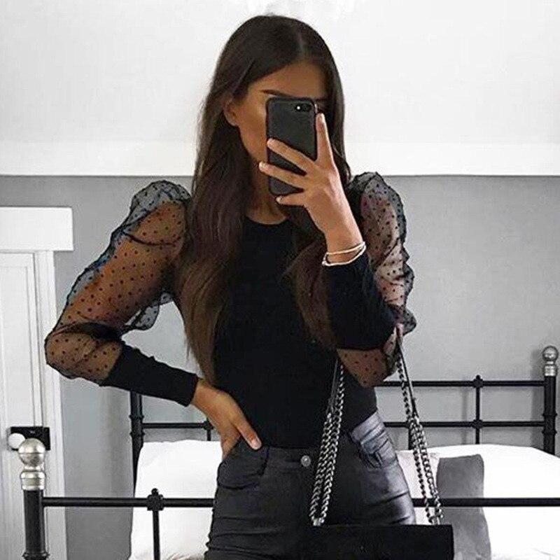 puff sleeve bodysuit women22
