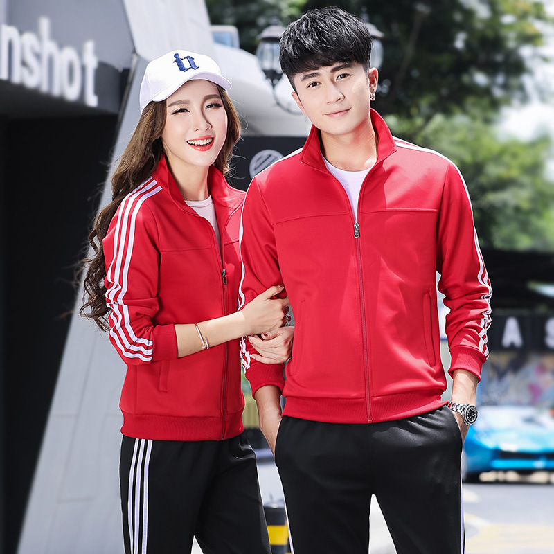 Sports Set Men's Spring And Autumn Couples Sportswear Women's Casual Two-Piece Set Men Sports Clothing Appearance Clothing