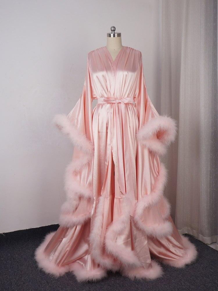 Dance-Dress Boudoir-Robe Masquerade Wedding-Gift Long-Sleeve
