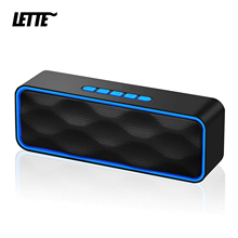 Bluetooth 5.0 Draadloze Speaker Usb Flash Drive Tf kaart Afspelen Dual Hoorns Subwoofer Tws Draadloze Aux ingang Kolom