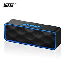 Bluetooth 5,0 Drahtlose Lautsprecher USB Stick Tf karte Wiedergabe Dual Hörner Subwoofer TWS Wireless AUX Eingang Spalte