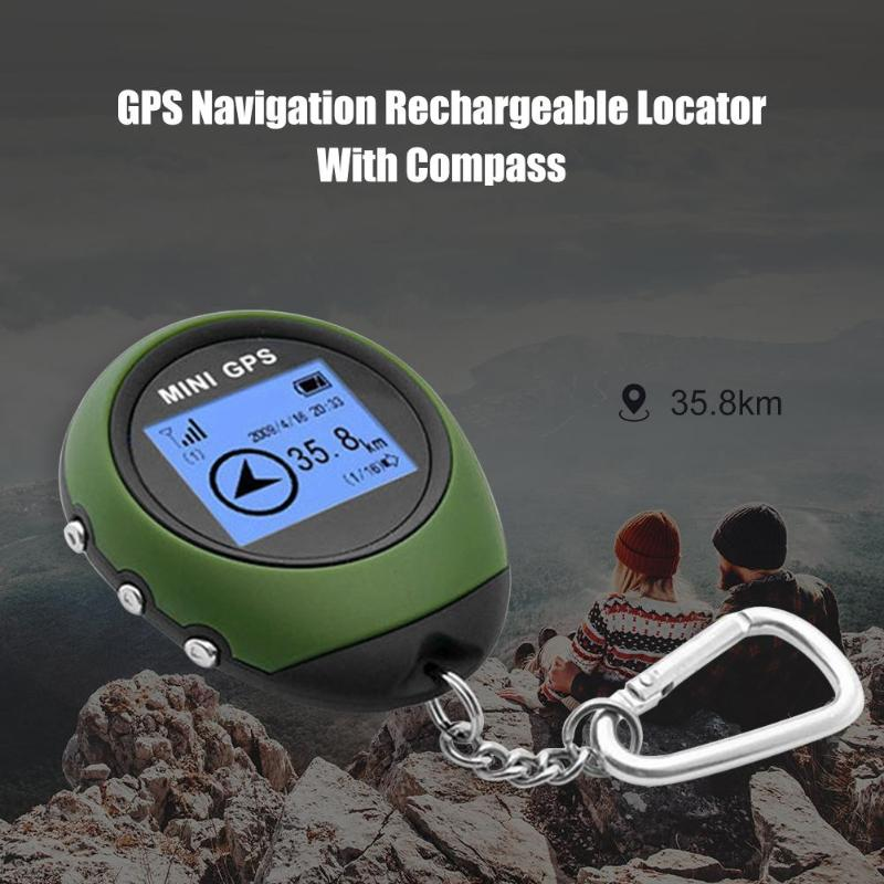 Mini GPS Tracker Locator Finder Navigation with Electronic Compass for Outdoor  Starting Point Directing Destination Accurate Anti-Lost Alarm  - AliExpress