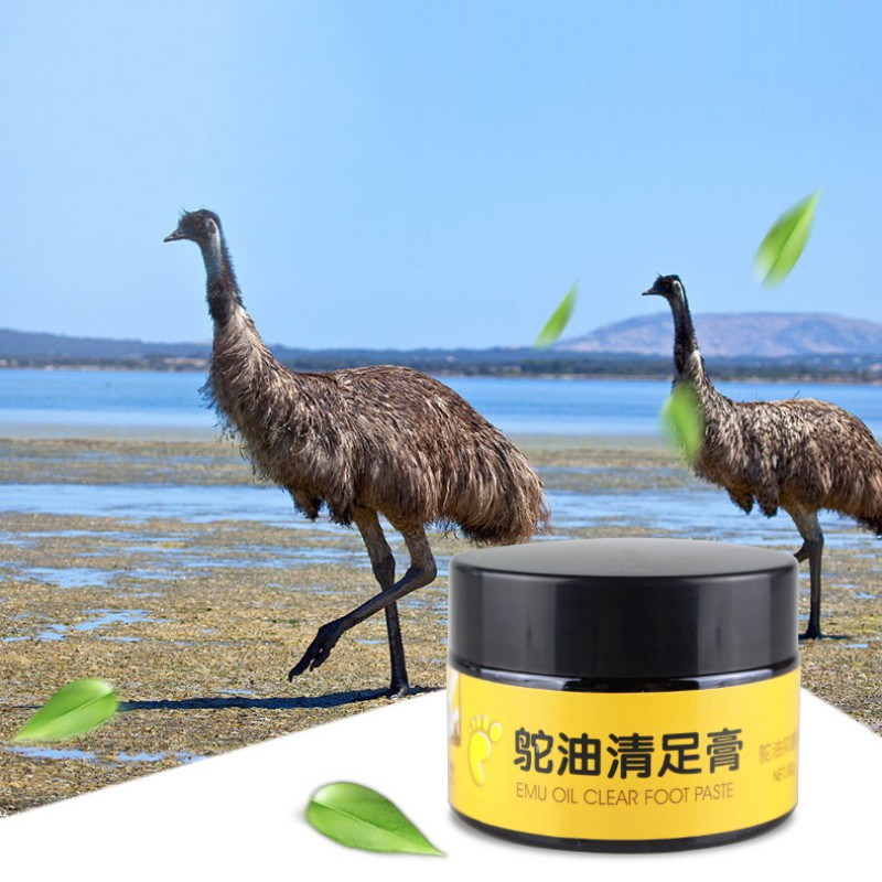 Natural Ostrich Oil Anti-drying Anti-wrinkle Crack Foot Cream Cracked Heel Repair Cream Removal Dead Skin