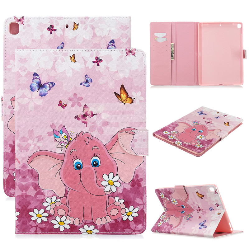 10 Air 2017 5 For Cute 2019 for Apple Unicorn Cover Tablet Cat 3 Case Magnetic iPad Pro