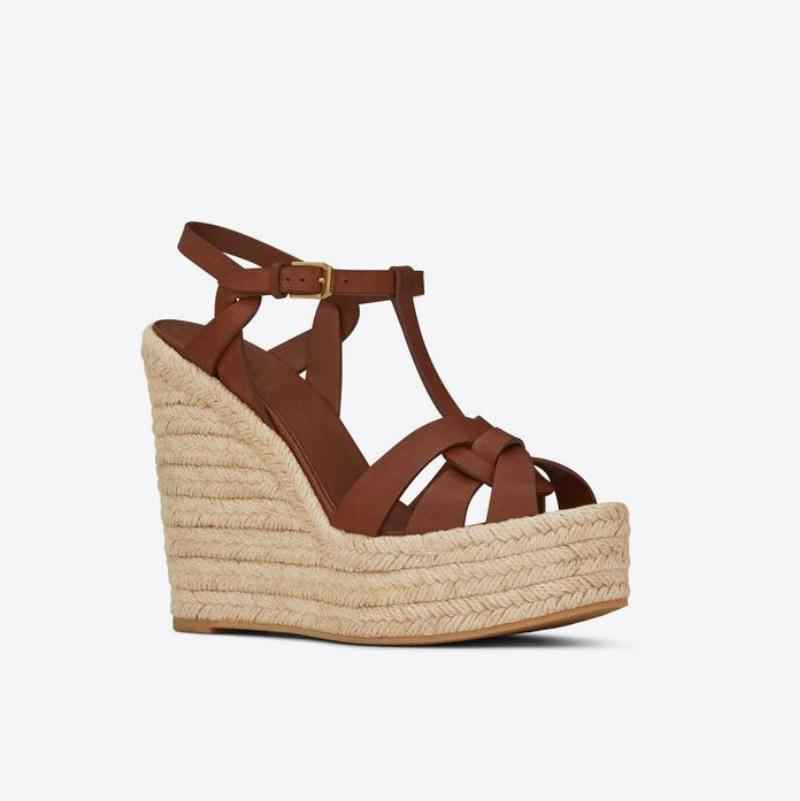 Hoge Hakken Sandalen Vrouwen Wiggen Schoenen Voor Vrouwen Platform Sapato Feminino Weave Dames Schoenen Mode Zomer Sandalias Mujer 2020