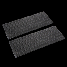 2x Clear TPU Laptop Keyboard Protector Cover for Microsoft Surface Book 2