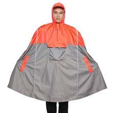 Рюкзак пончо qian для мужчин и женщин светоотражающий дизайнерский