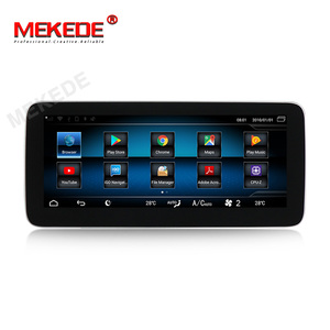 Image 3 - 1920*720 Android10 4G + 64G רכב GPS ניווט נגן DVD עבור מרצדס בנץ CLA כיתת W117 כיתה W176 GLA Class X156 2013 2018