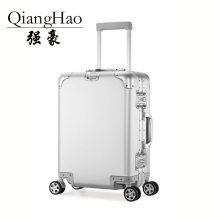 QiangHao бренд Алюминий сплав Материал Дорожный чемодан ноутбук тележка ручной Багаж для путешествий