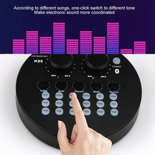Microphone Streamer Entertainment Computer Sound-Card-Headset Live-Broadcast Audio Usb