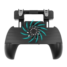 Pubg Controller Game pad Triggers MobilePhone Joystick Control Fortnite For Cellphone Android Gamepad Holder Cooler Fan
