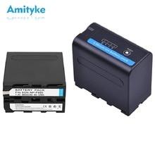 NP-F990 7.4V 7800mAh Camera Battery For Sony Camcorder HXR-MC1500C NEX-EA50 DSR-PD198P HVR-Z7C NX3 5 Batterie 8800mAh NP F990 цена 2017
