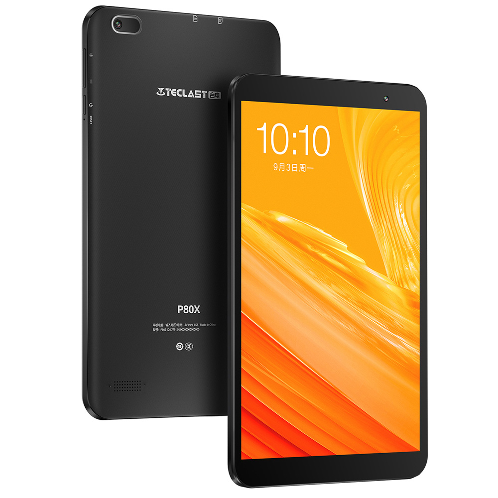 Teclast P80X 8.0 Inch 4G Phablet Tablet Android 9.0 Spreadtrum SC9863A 1.6GHz Octa Core CPU 2GB RAM 32GB ROM 2.0MP Camera EU