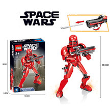 Star Wars red storms ride Building-block Toys Compatible with Legoinglys DIY Educating Children Christmas Gifts(China)
