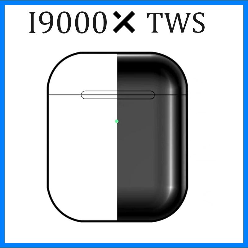 2019 Original I9000 X Tws Bluetooth 5.0 Earphones Wirless Headphones 8 D Noise Reduction Air 2 3 Headsets W1&H1 Chip Pro I9000