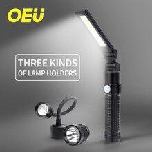 Oświetlenie robocze COB USB akumulatorowa akumulatorowa latarka ręczna składana latarka typu