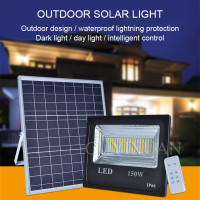 Indoor patio Solar energy Spotlights Warm white street light outdoor Huang Guang Lightning protection waterproof solar light
