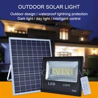 Indoor patio Solar energy Spotlights Warm white street light outdoor Huang Guang Lightning protection waterproof solar light
