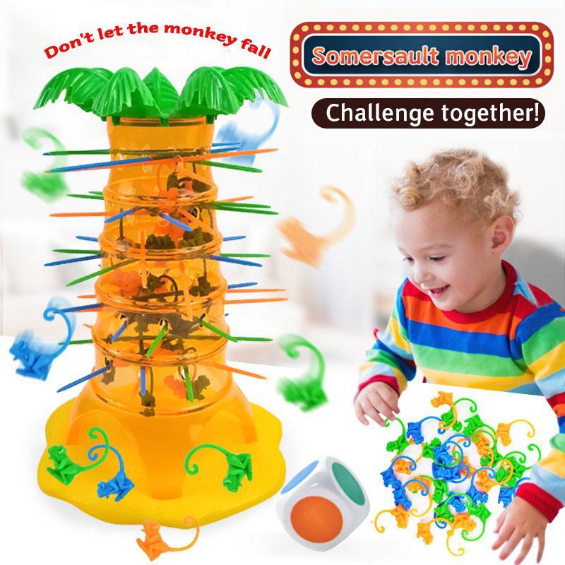 Monkey Tree Climbing Kids Desktop Table Game Party Board famiglia interattiva genitore-figlio giocattoli educativi divertenti per bambini