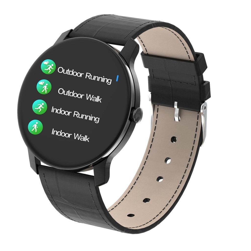 Умные часы фитнес T90 1 3 дюймов Большой экран мониторинг сна водонепроницаемый