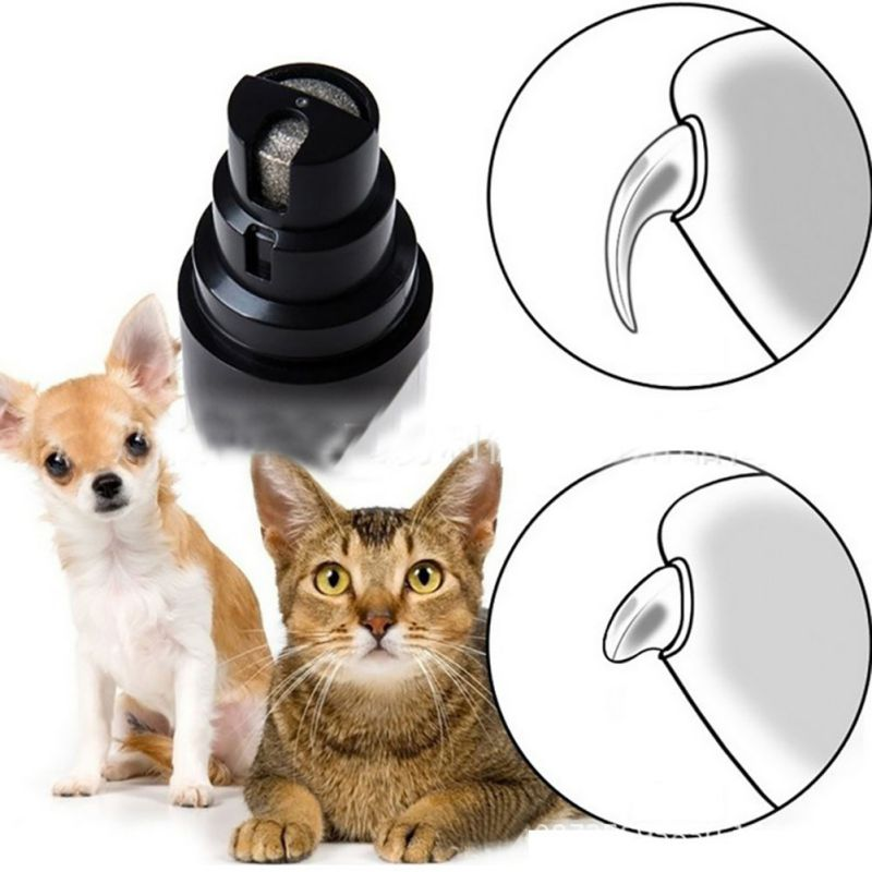 USB Charge Pet Nail Grinder Electric Manicure For Cat Dog