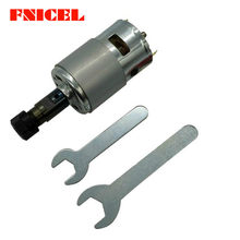 775 DC Motor 12-36V 4000-12000 Rpm Ball Bearing Spindle Motor dengan ER11 Ekstensi Rod untuk 1610/2417/3018 Mesin CNC Router(China)