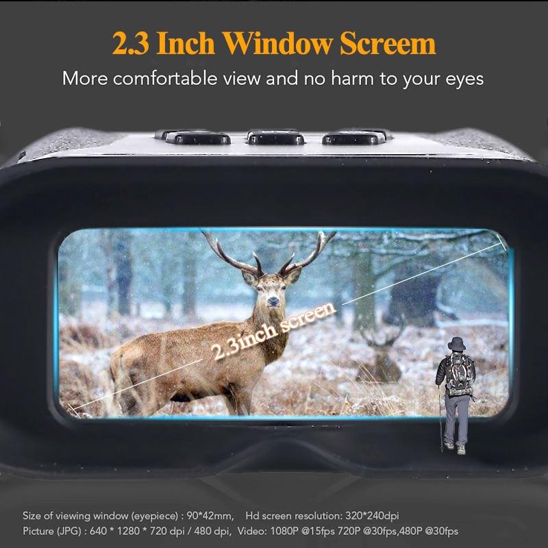 NV001A 2 For 3  Recording Image HD Amp Screen Large Camera Video Binoculars  Infrared Digital Hunting Night Night Patrol Inch Vision