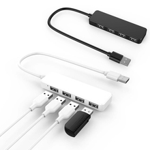 Universal 4-port USB 3.0 Data Hub Extension Splitter Adapter for Laptop PC Notebook Computer