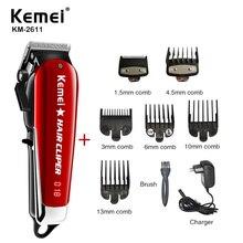 Kemei Professiona Lelectric Barber Hair Clipper Powerful Machine Hair