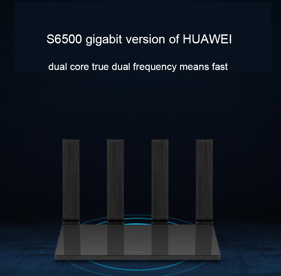 Huawei WS6500 Gigabit Dual-Core Router 4