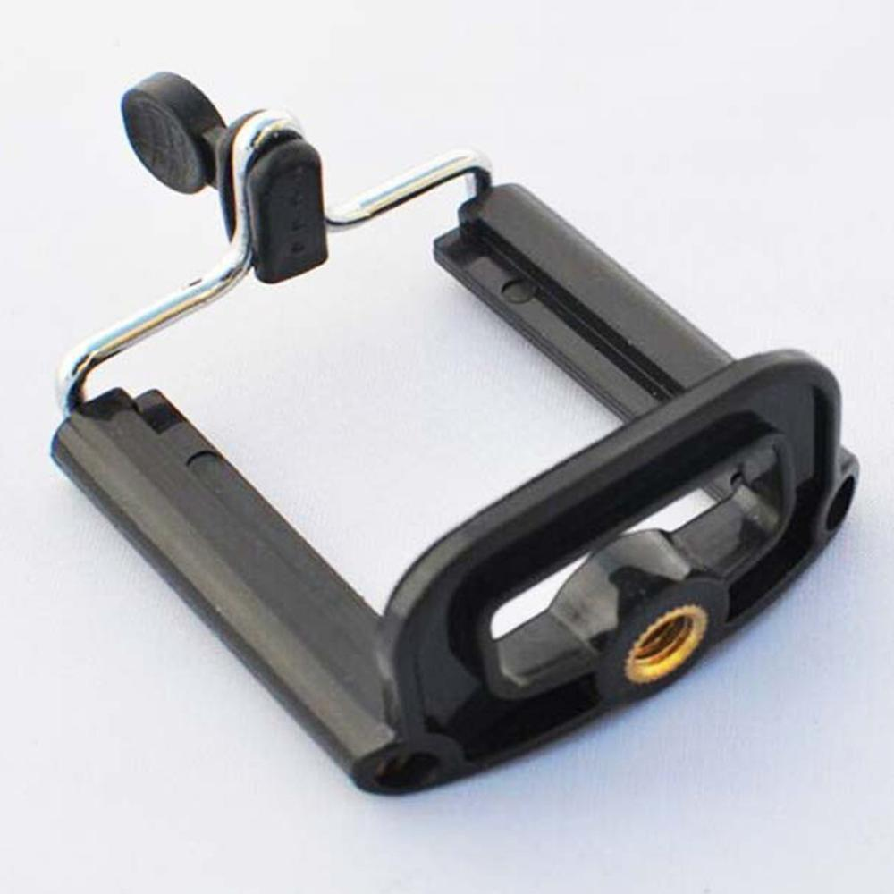 Hot Shoe Metal Gimbal & Mobile Phone Clip 1/4 Screw Interface Universal U Type Hot Shoe Ptz Mobile Phone Holder Bracket
