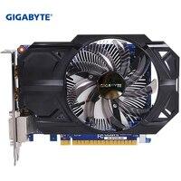 GIGABYTE Графика карты GTX 750 Ti с 128 бит GDDR5 Hdmi Dvi NVIDIA GeForce 2 Гб б/у VGA-карт gtx 750 ti GPU видео карта для ПК