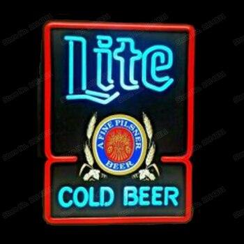 Miller Lite COLD BEER Printed