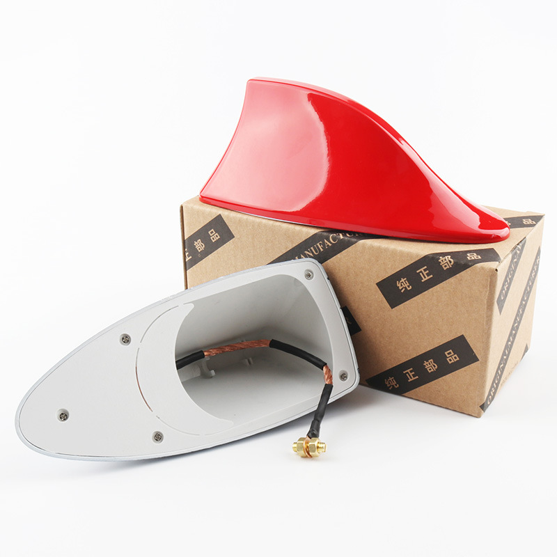 Image 5 - Car Shark Fin Signal Aerials Antenna Universal For Lada Vesta Granta For Kia Rio Car Styling Radio Signal Aerials Roof Antennas-in Aerials from Automobiles & Motorcycles