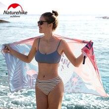 Naturehike полотенце для путешествий, Пляжное, быстрая сушка микрофибры, свободное, крутое, для серфинга, плавания, полотенце для спорта, бега, йоги, тренажерного зала, пота, банное полотенце