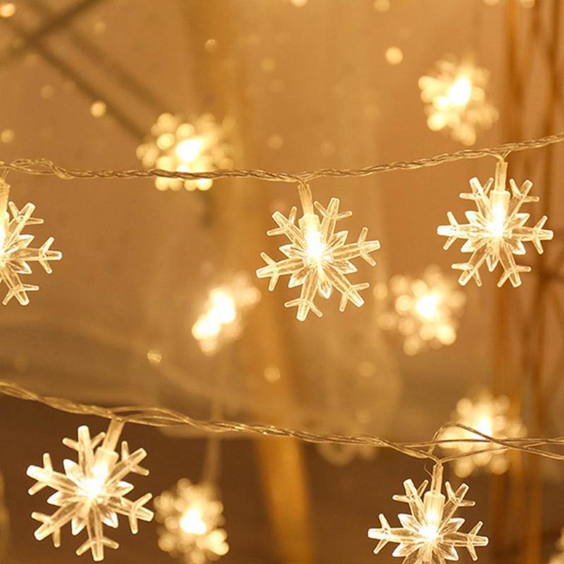 20 LED Lights Fairy String Lamp USB Power Christmas Valentine Wedding Decor Garden Garland For Xmas Led Lights Decoration