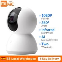 Webcam Ip-Camera Wifi CCTV Xiaomi Mijia Mini Infrared Smart 360-Degree 1080P Wireless