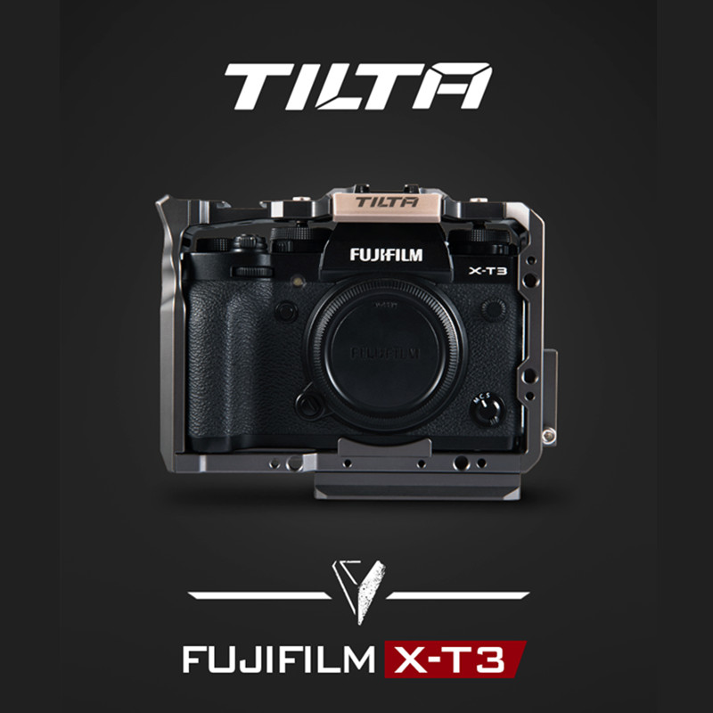 Tilta dslr camra cage for Fujifilm XT3 X T3 and X-T2 Camera TA-T03-FCC-G XT3 camera cage armor rig ACCESSORIES