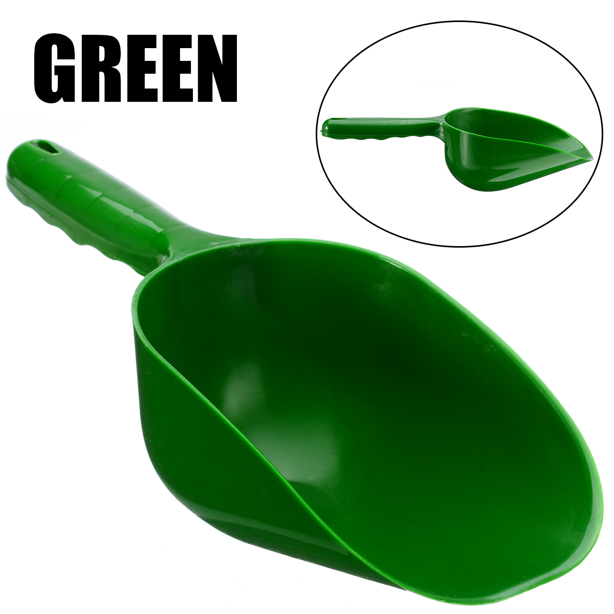 Plastic Garden Scoop Multi-function Soil Shovel Spoons Digging Tool Cultivation