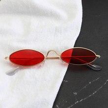 De Metal clásico pequeñas gafas de diseñador marca tendencia gafas de sol de las mujeres Sexy gafas adultos gafas