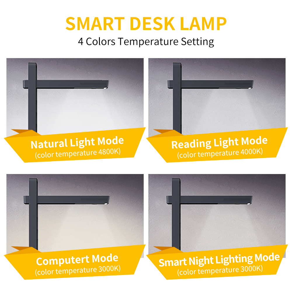 DealáCZUR Book-Scanner Desk-Lamp Smart-Table Personal Aura-X-Pro with Built-In-Battery Led