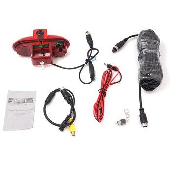 Backup Brake Light Reversing Rear View Camera CMOS for Opel Vivaro/Trafic 2001-2014 Waterproof 170 Third Brake Light Camera