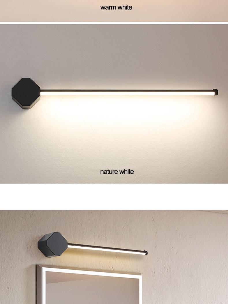 LED镜前灯卫生间简约浴室化妆灯具梳妆台灯饰洗手间厕所壁灯镜灯-tmall_08
