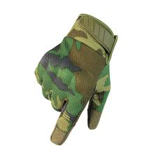цена на Touch Screen Tactical Gloves PU Leather Army Military Combat Airsoft Outdoor Sport Cycling Paintball Hunting Swat