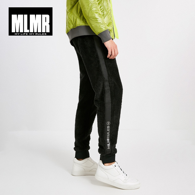 MLMR Men's Winter Velvet Warm Jogger Pants Sweatpants JackJones New Brand Menswear 218414518