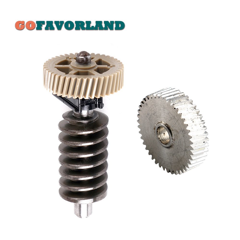 Favorland Car Seat Height Adjust Motor Wheel Gear Left 7L0959111 4F0959111 For VW Touareg For Audi A4 B6 B7 A6 C6 Q7 Cayenne